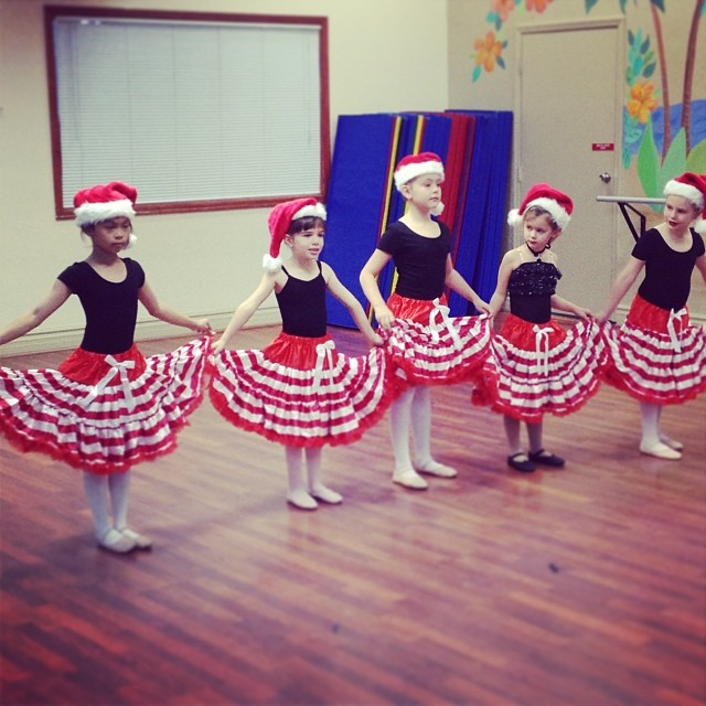 Our dancers are already excited for the 2014 Winter Recital!